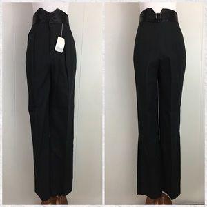 Vintage Sears JR High Waist Tuxedo Pants